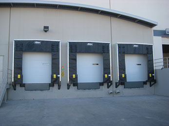 Hollywood commercial roll up garage door